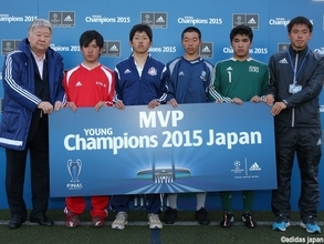 "「adidas UEFA Young Champions 2015」""日本代表""のU-16戦士4名が新たに決定!!"