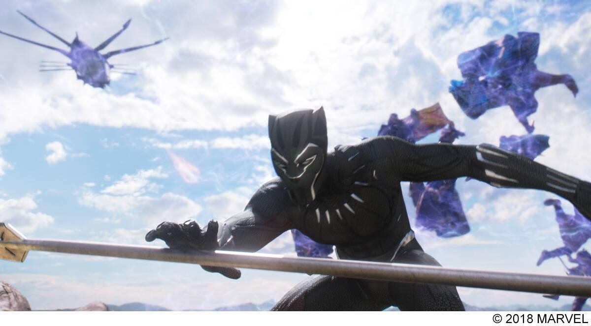 ブラックパンサー 4k Ultra Hd を観てみたら スーツの黒の際立ち
