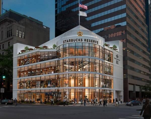 世界最大! スタバの高級店「リザーブ ロースタリ―」がシカゴに11月15日オープン