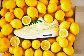 "「POWER WALL COLLECTION」のAIR MAX 1""LEMONADE""が復刻"