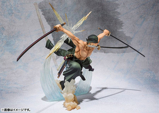 Figuarts ZERO Battle Ver.に「ONE PIECE」新世界編ロロノア・ゾロの「煉獄鬼斬り」が登場