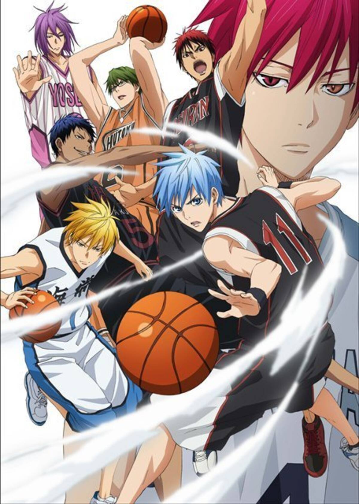 黒子のバスケ 未来へのキズナ 2015年3月26日に発売決定 新たな画像も