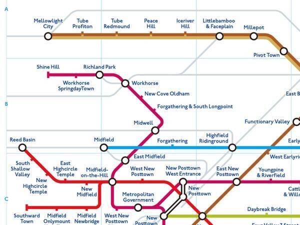 まるでゲームの舞台? 東京の地下鉄を英訳した路線図に「これは面白い ...
