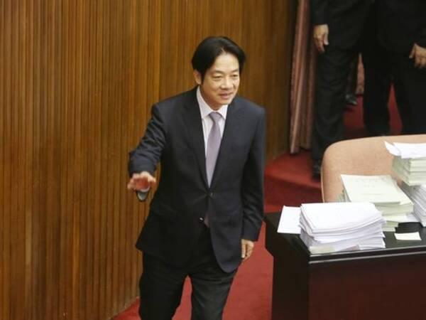 11日に内閣総辞職」=台湾・頼行政院長 (2019年1月10日) - エキサイト ...