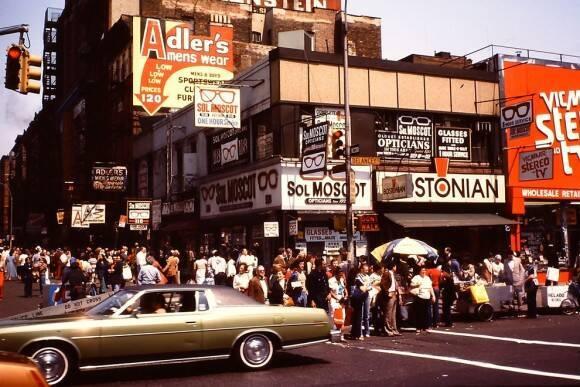 1980年。アメリカ、ニューヨークの街並みを撮影した写真 (2016年7月30 ...