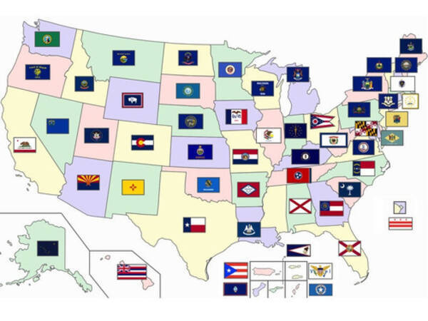 アメリカの各州の特徴を説明した「正直すぎる」スローガンいろいろ ...