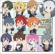 TVアニメ『ACTORS -Songs Connection-』キャラソンアルバム発売決定!