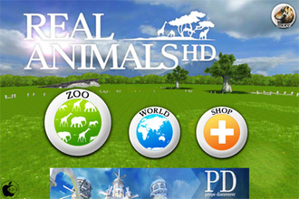 3D動物図鑑アプリ「REAL ANIMALS HD」を試す