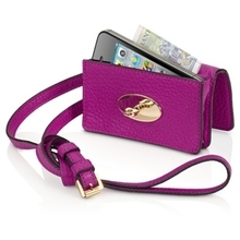英国Mulberry、iPhone専用小型ショルダーバッグ「Bayswater Mini Messenger For iPhone」と「Daria Mini Messenger For iPhone」の販売を開始