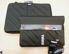 アスク、スウェーデンTHULE製のMacBook Air/Pro用スリーブケース「THULE Sleeve for MacBook Pro」と「THULE Molded EVA Sleeve for MacBook Air」の販売を開始