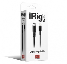 IK Multimedia、iRig KEYS対応Lightningケーブル「Lightning cable for iRig」を販売開始
