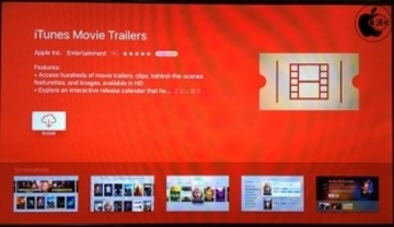 Apple、tvOS用映画予告編アプリ「iTunes Movie Trailers for Apple TV」をリリース