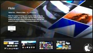 Yahoo!、tvOS用公式Flickrアプリ「Flickr for Apple TV」をリリース