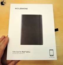 Apple Store、MoleskineのiPad mini 4用ケース「Moleskine Folio Case for iPad mini 4」を販売開始