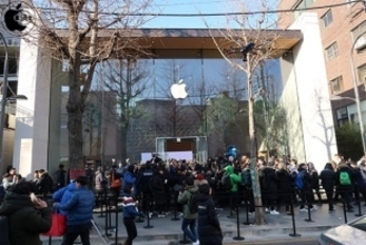 韓国初のApple Store「Apple Garosugil」がオープン!