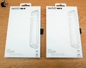 Apple Store、英Tech21の耐衝撃iPhone X用ケース「Tech21 Pure Clear Case for iPhone 8/7」を販売開始