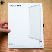 Apple Store、英Tech21の耐衝撃素材採用iPad (6th generation)用ケース「Tech21 Impact Clear Case for iPad(第6世代)」を販売開始
