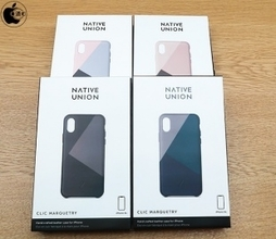 Apple Store、Native UnionのiPhone XS/X用レザーケース「Native Union CLIC Marquetry Leather Case for iPhone XS」を販売開始(Store限定)