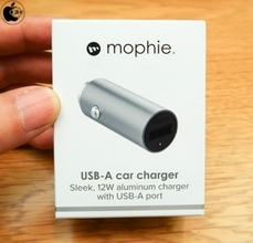 Apple Store、mophieのUSB-A対応カーチャージャー「mophie USB-A Car Charger」を販売開始(Store限定)