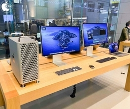 Apple Store、Mac Pro (2019)の展示を開始