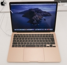 Appleの「MacBook Air (Retina, 13-inch, 2020)」をチェック