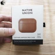 Apple、Native UnionのAirPods Pro用革ケース「Native Union Leather Case for AirPods Pro」を販売開始(Store限定)