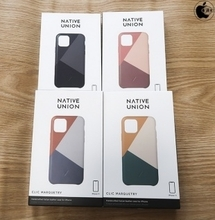 Apple、Native UnionのiPhone 11用レザーケース「Native Union CLIC Marquetry Leather Case for iPhone 11」を販売開始(Store限定)