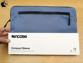 Apple Store、IncaseのMacBook Air/Proシリーズ用スリーブケース「Incase Compact Sleeve in Flight Nylon for MacBook シリーズ」の「ブルー」を販売開始