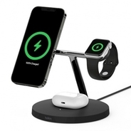 Apple Store、BelkinのMagSafe対応ワイヤレス充電器「Belkin BOOST↑CHARGE PRO 3-in-1 Wireless Charger with MagSafe」を販売開始