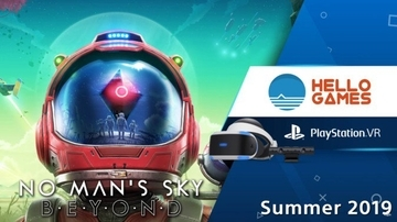 「No Man's Sky」がPSVRとSteamVRに対応 非VRとのクロスプレイも