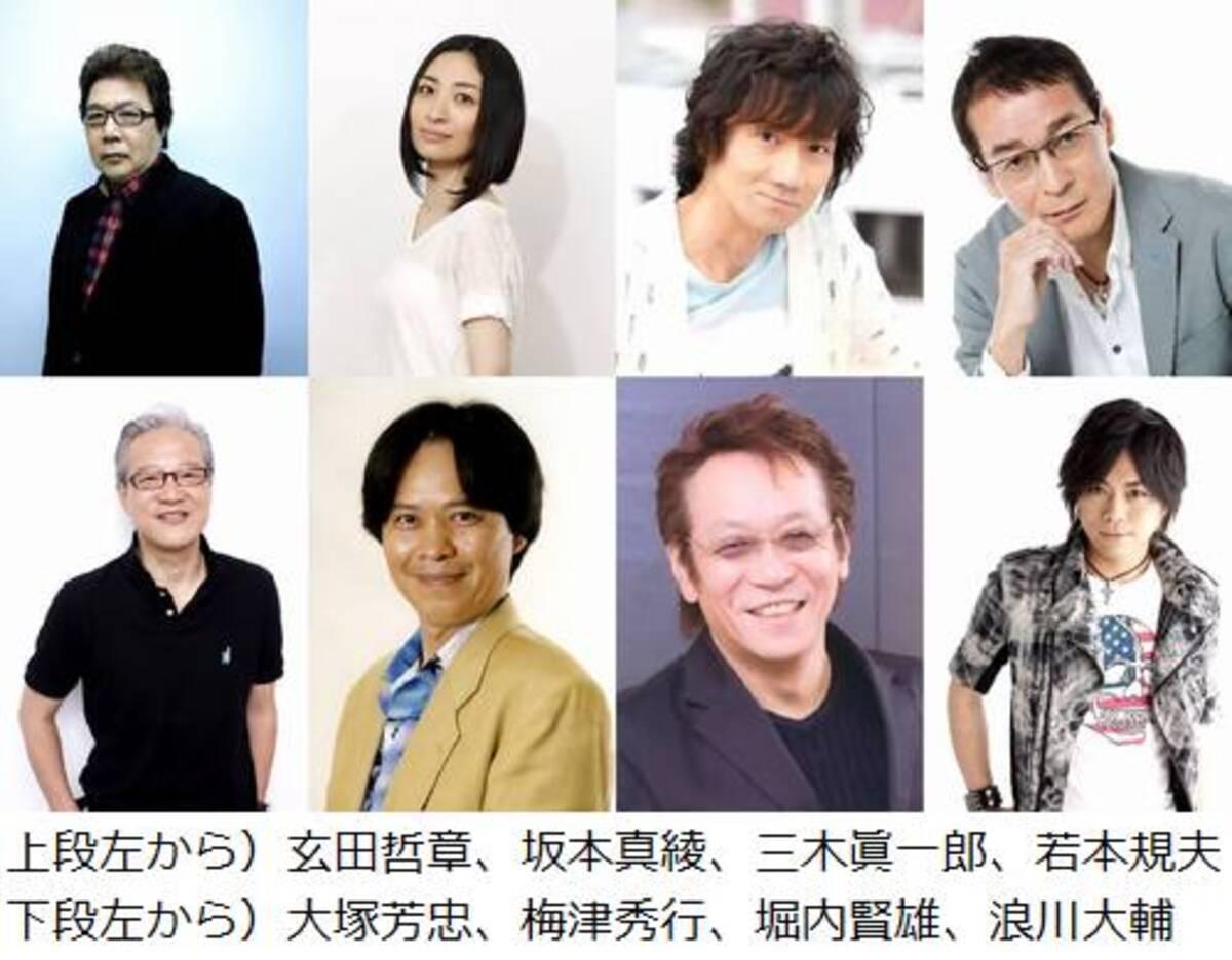 ブラピ最新作に超豪華声優陣、声優界を代表するメンバーが集結。 (2013 ...