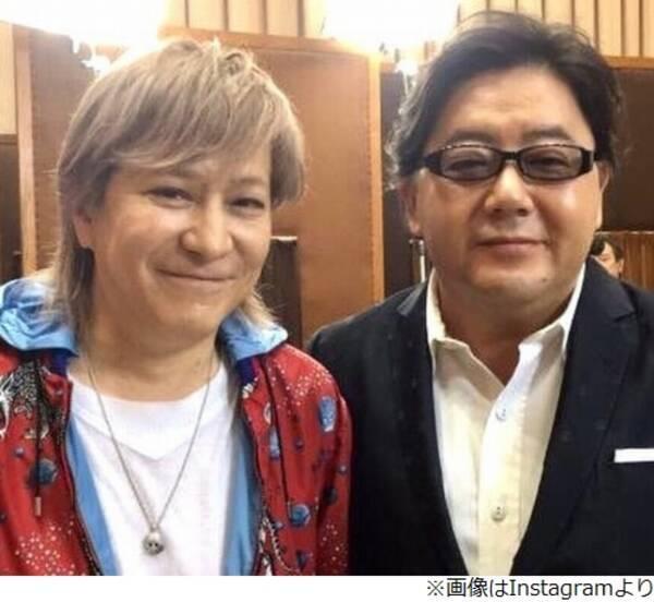 """小室哲哉、秋元康との""""二大巨頭""""ショット"""