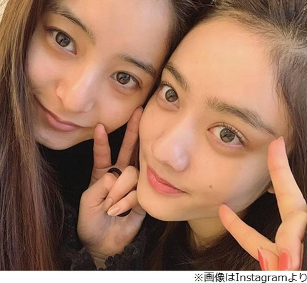 """新木優子&谷まりあ""""すっぴん""""2ショットに大絶賛 (2019年2月19日 ..."""