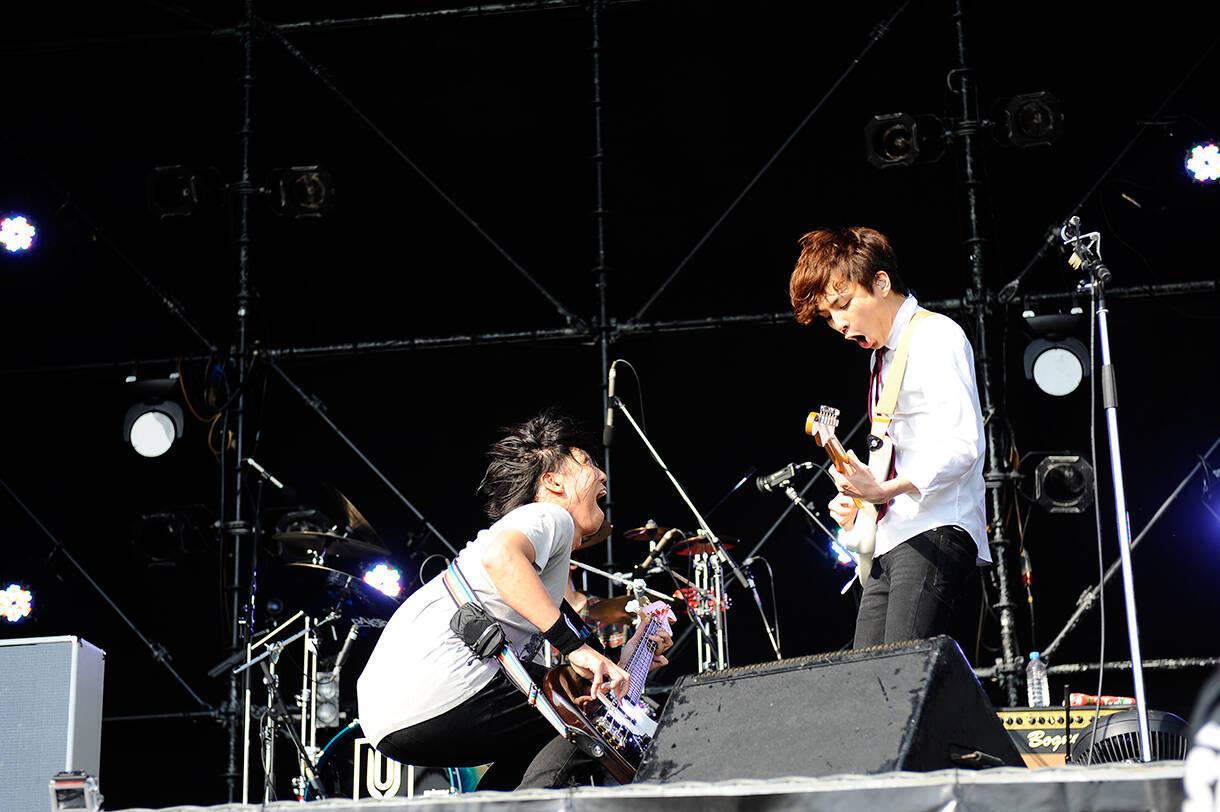 Unison Square Garden 斎藤復帰後初ライブを披露 6月に自主企画