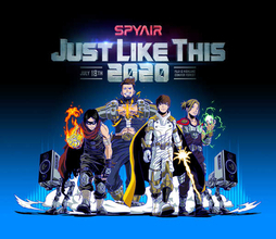 SPYAIR、恒例単独野外ライブ『JUST LIKE THIS 2020』開催決定&『JUST LIKE THIS 2019』映像化
