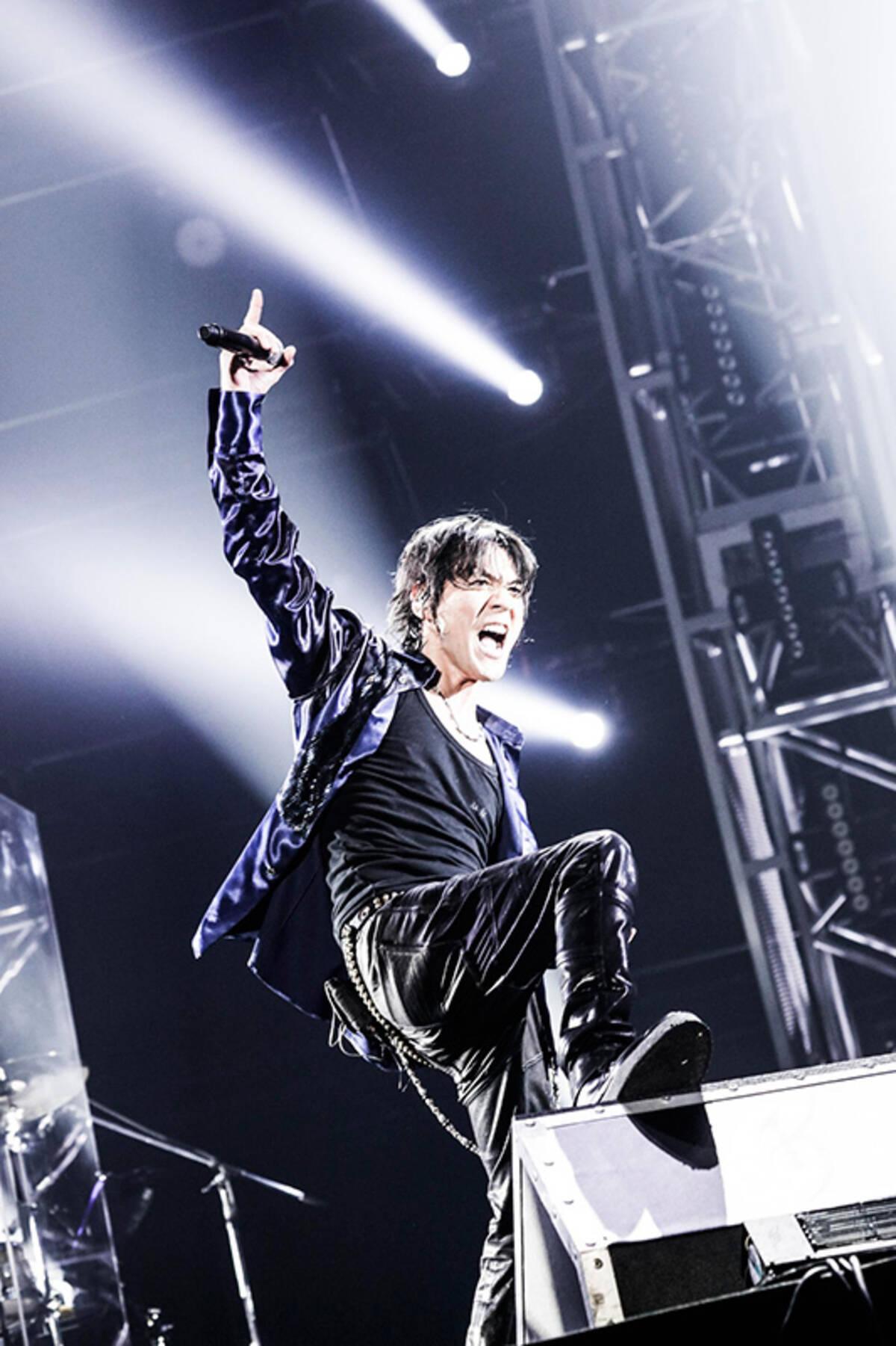 氷室京介 ファイナルライブ4大ドームツアーの最終公演が映像化 16年12月22日 エキサイトニュース