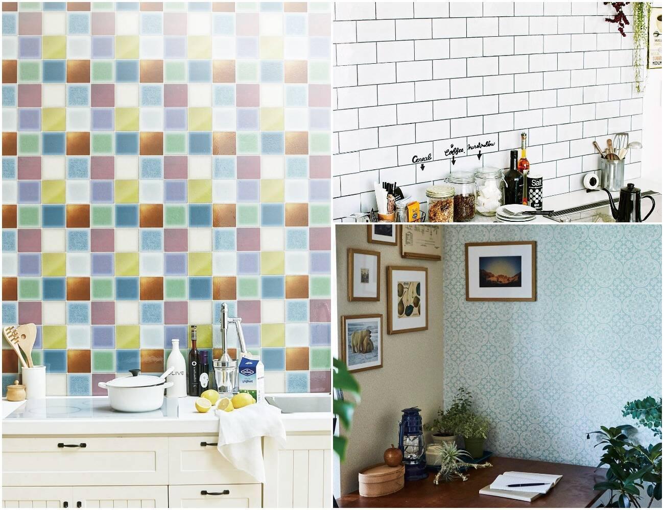 簡単に家をイメチェンするなら 貼ってはがせる壁紙シール がオススメ
