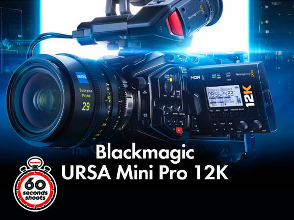 [再現InterBEE2020:動画]Blackmagic Design「URSA Mini Pro 12K」