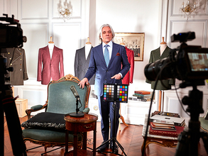 Blackmagic Design製品事例:YouTubeチャンネル「Sartorial Talks」の場合