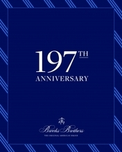 Brooks Brothers 197th Anniversary