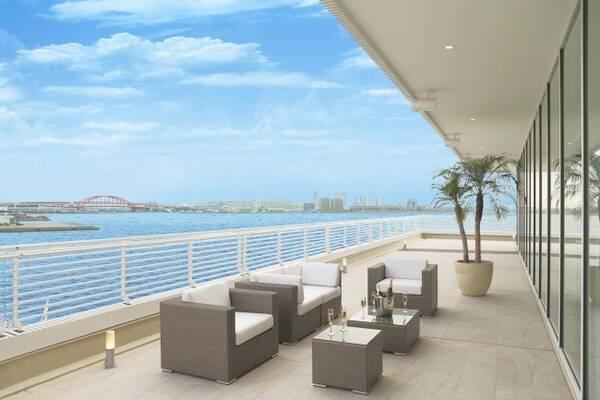 神戸メリケンパークオリエンタルホテル】海に囲まれたホテルで ...