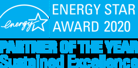 ENERGY STAR(R)アワード2020で最高位の賞である「Partner of the Year - Sustained Excellence」を3年連続受賞
