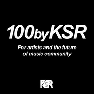 """For artists and the future of music community""- KSRがサポートする新しい楽曲リリースの形「100byKSR」がスタート -"