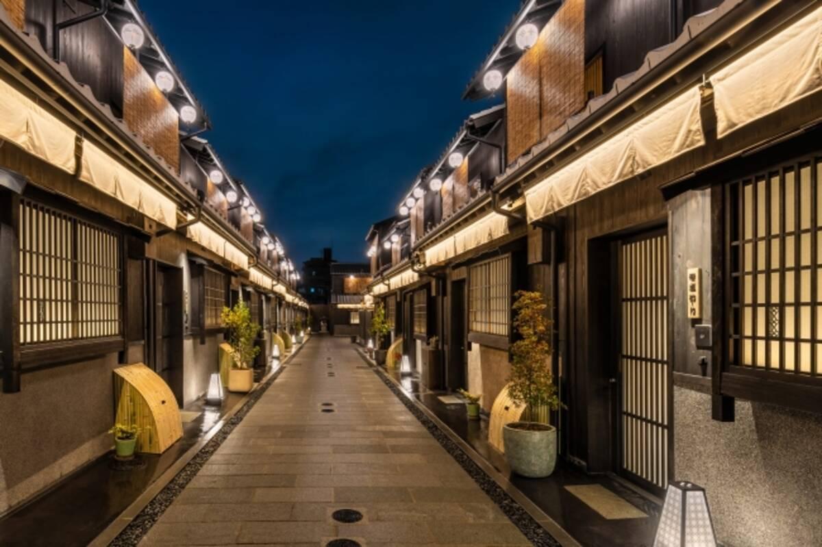 町家の並ぶ路地一体を旅館へリノベーション:「Nazuna 京都 椿通」開業 ...