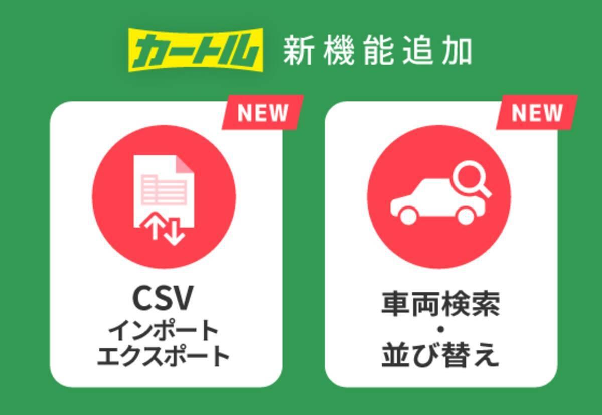 車の360°写真撮影サービス「カートル」 車両一括作成・検索など大規模 ...