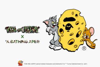 A BATHING APE(R) × TOM and JERRY
