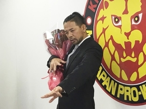 "KING OF STRONG STYLEを胸に…中邑真輔""世界""に挑戦!"