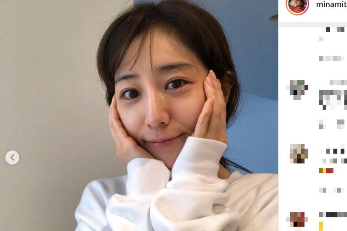 田中みな実、洗顔直後のどすっぴん公開 「彼女感!」「やばい…」 (2019 ...