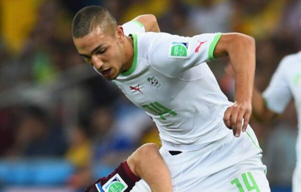 アルジェリア代表mfベンタレブが抱負を語る レギュラーになる 2014