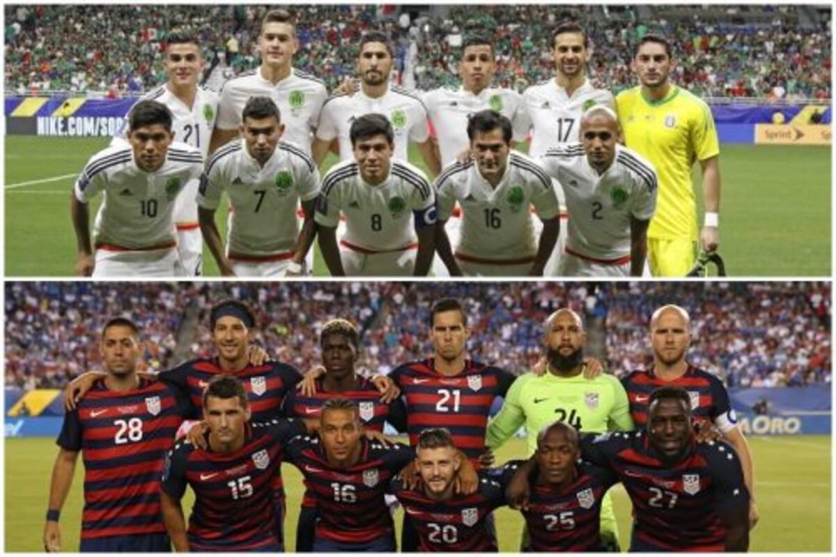 CONCACAFゴールドカップ準決勝カ...